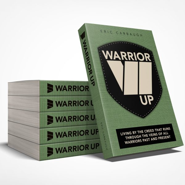 Warrior Up Book - Book Stack