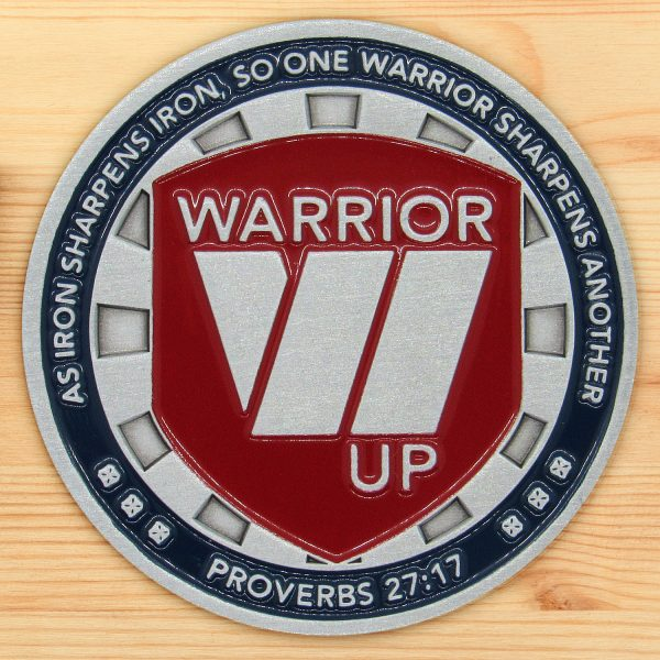 Warrior up Coin - Front