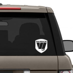 Warrior Up Sticker / Decal
