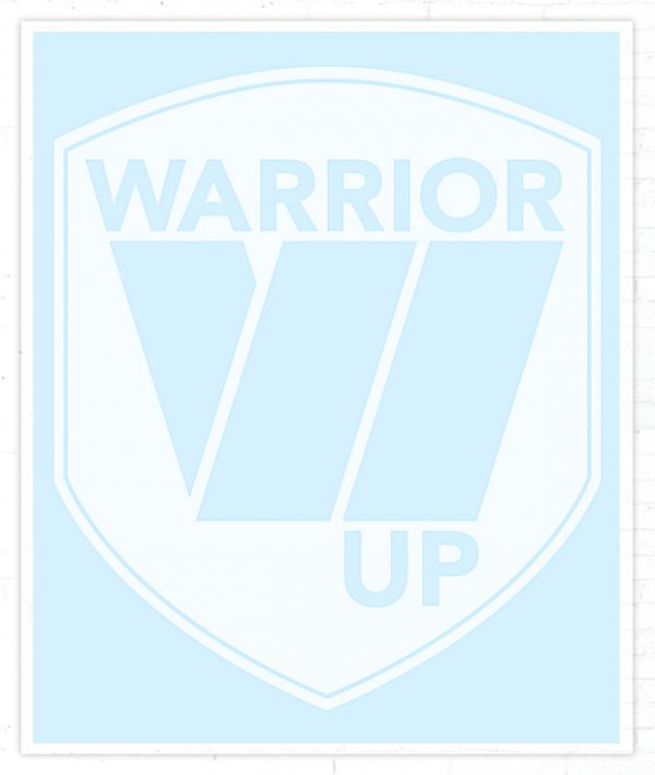 Warrior Up Sticker / Decal