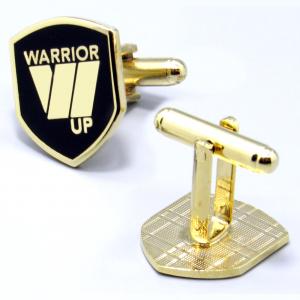 Warrior Up Cufflinks - Gold